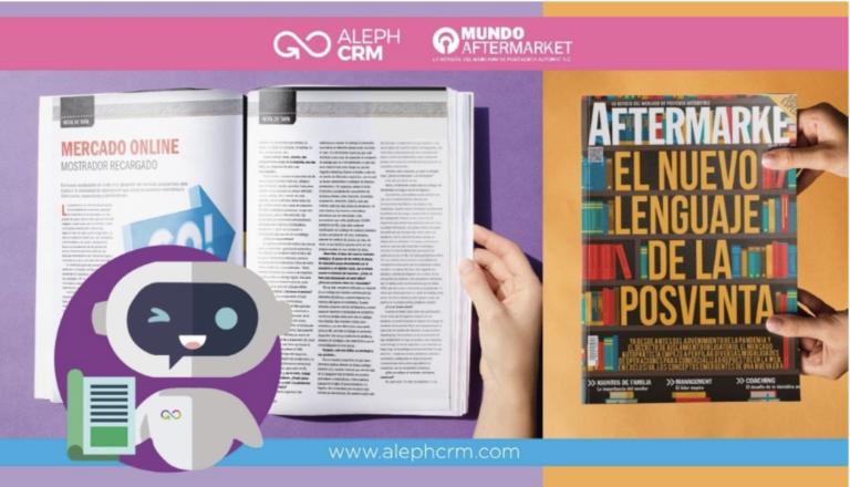 AlephCRM, es parte de la transformación del lenguaje en el mercado autopartista.