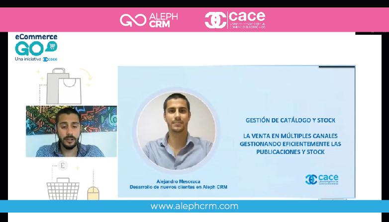 AlephCRM dice presente en el evento e-commerce GO organizado por CACE