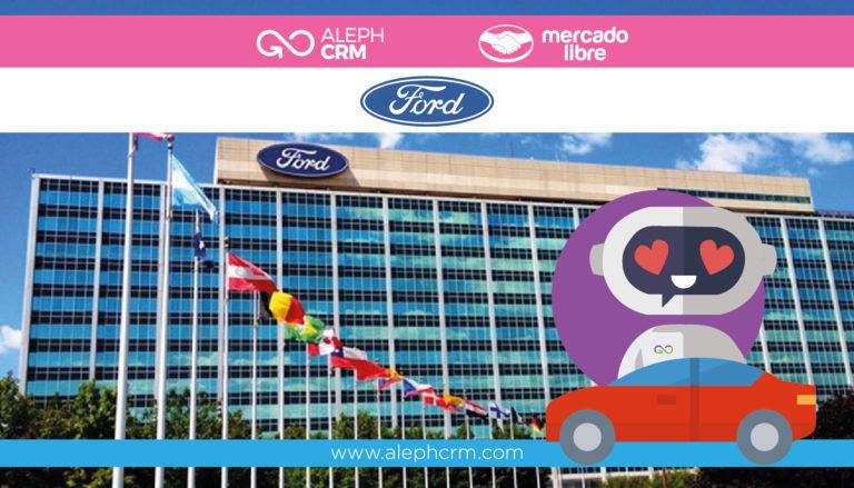 Ford lanza su tienda oficial en Mercado Libre con AlephCRM como plataforma
