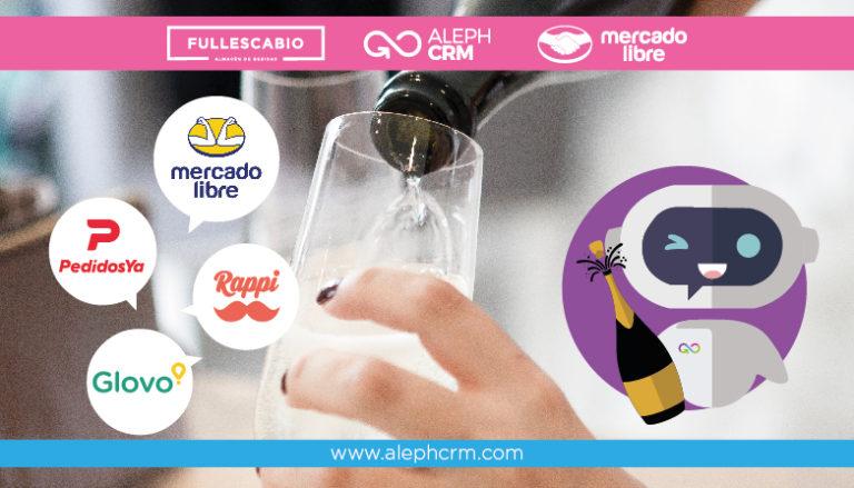 AlephCRM, Full Escabio, MercadoLibre, Rappi, Glovo y PedidosYA inician la transformación de la industria de alimentos y bebidas